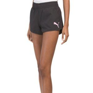 PUMA| Black Regular Fit Training Shorts | Large